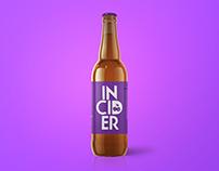 3D Bottle Poster design