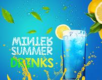 Seasonal Juice Menu Design