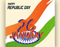 republic day vector download