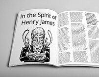 Henry James Magazine Layout