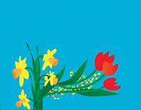 Twenty Five Springs - Typographic Illustration