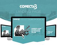 CONECTA3 - Landing Page