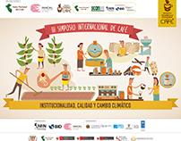 LINEA GRAFICA DEL 3ER SIMPOSIO INTERNACIONAL DEL CAFÉ