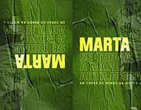 Poster - Copa do Mundo de Futebol Feminino - Marta