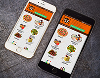 Design: mobile Pizza22