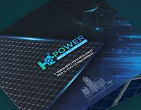H2Power website banners & Brochure