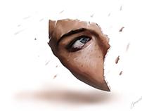"""""""Zaten kırılmış bir kızsın"""" Digital Art"""