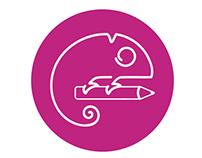 Centro Acadêmico de Design PUCPR - Identidade Visual