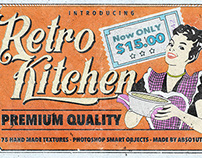 Retro Kitchen - Smart PSD