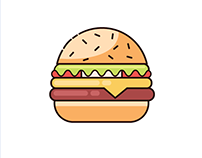 Food Icons - Flatdesign