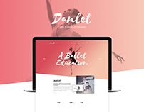 Danlet Academy WordPress Theme - Art Education