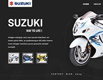 Suzuki company banner design #unofficially