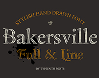 Bakersville Serif Scetch Font