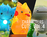 Characters Cute Vol.4 By Oscar creativo