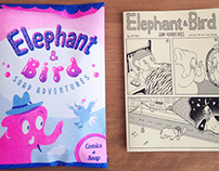 Elephant & Bird Soap Adventures - Comics and soap kit