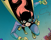 Batgirl - Cover Mockup