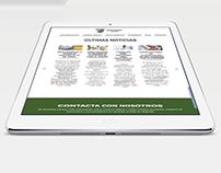 Asociación Asalbez - Diseño web