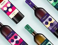 TREACINI - Wine label