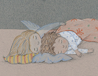 THE LOVE OF AN ANGEL SISTER - Children's Book