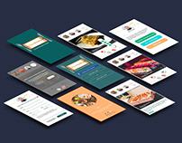 UX-UI for NexTasty. The social media for foodies