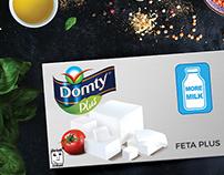"Domty Plus ""sub brand"" logo concept"