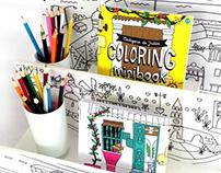 Libro para colorear - Cartagena Gráfica