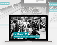 Le Mans 1955 – Digital Storytelling