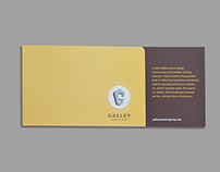 Galley Creative Group promotional brochure