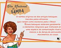 Dia Nacional do Samba - Univille