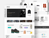 Beige : Free Fashion Ecommerce PSD Template