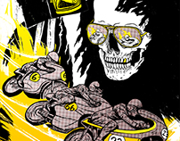 Death Race // Screen Print