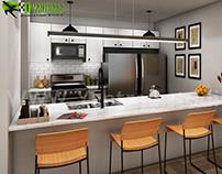 Modern Small Kitchen Design Ideas by Yantram
