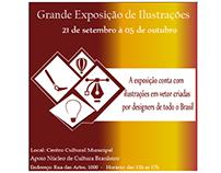 Convite para exposição
