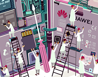 Huawei Illustrations