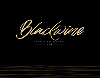 Black wine | logo & brand identity