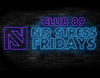 Client Portfolio : No Stress Fridays at Club 89