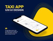 Taxi App - UX/UI Design