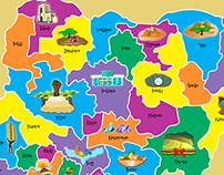 A map of Nigeria