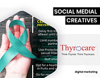 Social Media Creatives - Thyrocare Gulf