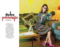 RETRO NOSTALGIA // HELLO! FASHION SERBIA