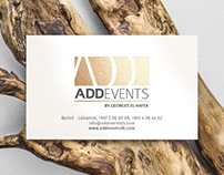 ADD EVENTS | BRANDING