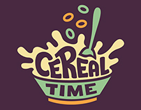 Cereal Time Logo Design