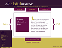 Helpful Husbands Website Design and Development