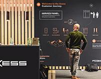 Interactive Wall, Axess AG