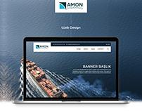 Amon Shipping Web Design