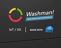 Washman (24 Hours IoT Hackathon)