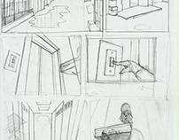 comics page sketch