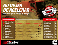 Cummins Carrera de la Excelencia 2014 RALLY TRUCK RACE