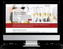 Corporate Event Responsive Website Design