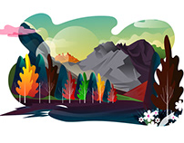 Landscape Illustration